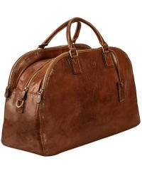 Maxwell Scott Bags - Tan Ladies Leather Luggage Bag - Lyst