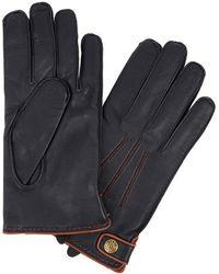 Dents - Salisbury Midnight Blue Leather Gloves - Lyst