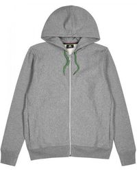 PS by Paul Smith - Grey Hooded Cotton Sweatshirt - Lyst