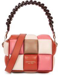 Kate Spade Rubix Padded Leather Cross-body Bag - Multicolour