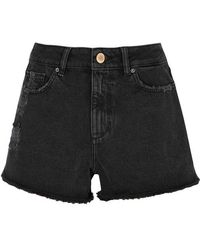 DL1961 - Cleo Distressed Denim Shorts - Lyst