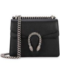 Gucci Dionysus Shoulder Bag - Black