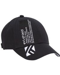 Evisu Evi-shield K Logo Embroidered Cap - Black
