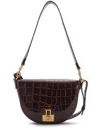 Jigsaw Cooper Shoulder Bag Leather - Brown