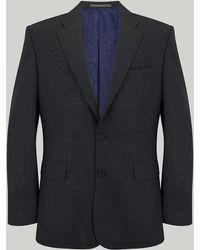 Harvie & Hudson - Grey Birdseye Suit - Lyst