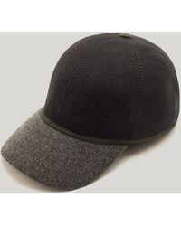 Harvie & Hudson Grey British Ball Cap