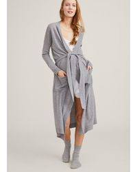 HATCH Maternity The Cashmere Robe - Gray