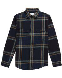 Adsum Big Plaid Workshirt - Blue