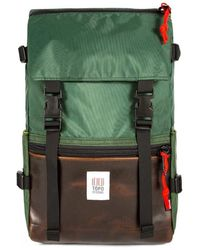 Topo Rover Pack Backpack - Leather - Green