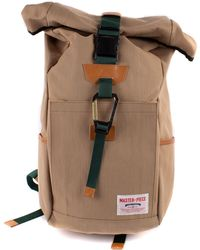 Master Piece Link Backpack - Roll Top - Natural