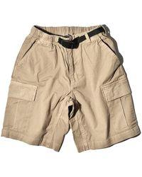 Gramicci Ripstop Cargo Shorts - Natural