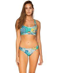Sunsets Aqua Reef Femme Fatale Hipster - Blue