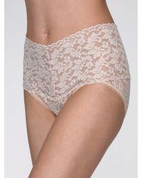 Hanky Panky - Retro High Waisted Lace V-kini Plus Size Panties - Lyst