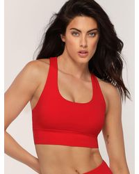 Lorna Jane Amaze Sports Bra - Red