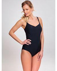 Panache Balconnet One-piece Swimsuit - Black