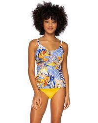 Sunsets Bahama Breeze Avery Tankini - Blue