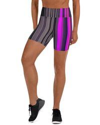 HAVAH Ceva High Waist Shorts - Multicolour