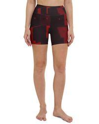 HAVAH Vasic High Waist Shorts - Multicolour