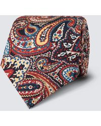 Hawes & Curtis Bold Paisley Tie - Multicolour