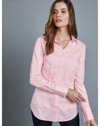 a10e25279da383 Polo Ralph Lauren Bengal-striped Cotton Shirt in Blue - Lyst