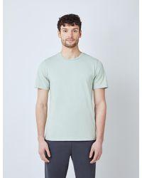 Hawes & Curtis Curtis Garment Dye Organic Cotton T-shirt - Green