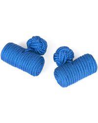 Hawes & Curtis - Royal Blue Silk Barrel Curtis - Lyst