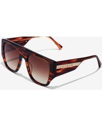Hawkers Gafas de sol Volcano Brown Gradient Rimy - Marrón