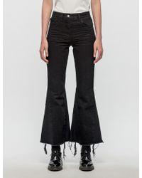 MISBHV Denim Flare Jeans - Black