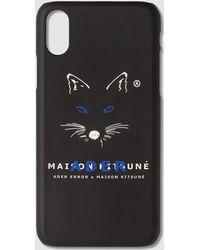 Maison Kitsuné - Ader Error X Fox Mustache Kitsune Iphone Xs Case - Lyst