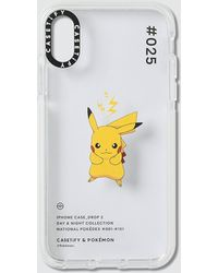 Casetify Pikachu 025 Pokédex Day Iphone X/xs Case - Multicolor
