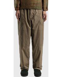 Sasquatchfabrix Nylon Work Pants - Brown