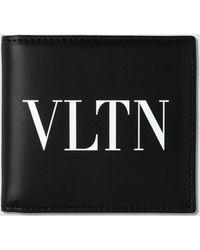 Valentino - Billfold Wallet - Lyst