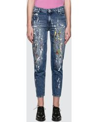 Calvin Klein Jeans - Sterling Straight Ankle Jeans - Lyst