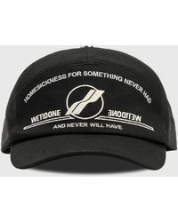 we11done Embroidered Sailing Cap - Black