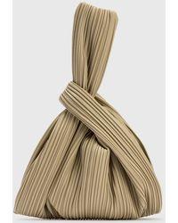 Nanushka Jen Vegan Leather Bag - Brown
