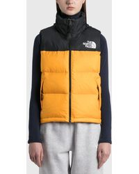 The North Face 1996 Retro Nuptse Vest - Yellow
