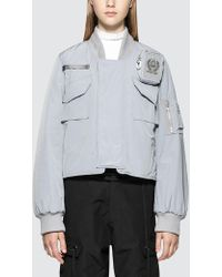 Hyein Seo - Ma-1 Jacket With Cigarette Pouch - Lyst