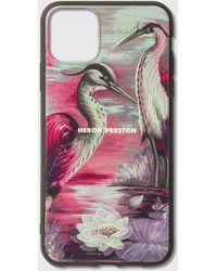 Heron Preston Times Iphone 11 Pro Max Case - Multicolour