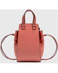 Loewe Mini Hammock Drawstring Bag - Pink