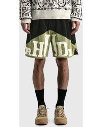 Rhude Yachting Shorts - Green