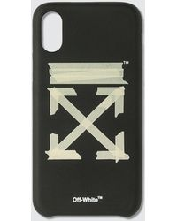 Off-White c/o Virgil Abloh Iphone Xs Max Tape Case - Black