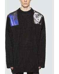 Raf Simons Oversized Sweater - Black