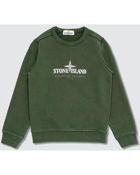 Stone Island Sweatshirts - Green