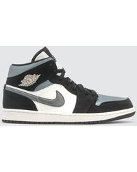 Nike Nike Air Jordan 1 Mid Se - Gray