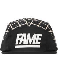 Hall of Fame - Black Split Fame Block Camper - Lyst