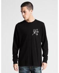 Acapulco Gold - Black Ag T-shirt L/s - Lyst