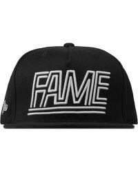 Hall of Fame - Black Fame Lines Cap - Lyst