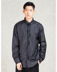 Still Good - Navy Nylon Shirt Jacket - Lyst
