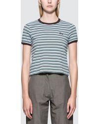 Stussy - Frankie Ringer S/s T-shirt - Lyst