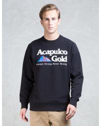 Acapulco Gold - Kilimanjaro Crewneck Sweatshirt - Lyst